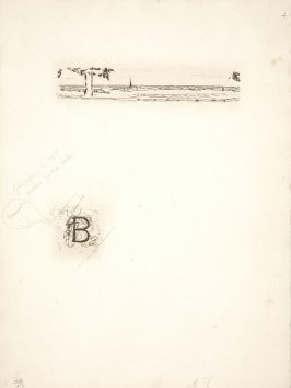 Untitled, working proof of pg. 51 (proof 2 of 4), in the book Dingo by Octave Mirbeau (Paris: Ambroise Vollard, 1924)