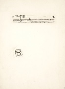 Untitled, working proof of pg. 51 (proof 4 of 4), in the book Dingo by Octave Mirbeau (Paris: Ambroise Vollard, 1924)