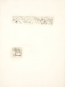 Untitled, working proof of pg. 71 (proof 1 of 3), in the book Dingo by Octave Mirbeau (Paris: Ambroise Vollard, 1924)