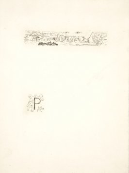 Untitled, working proof of pg. 81 (proof 1 of 3), in the book Dingo by Octave Mirbeau (Paris: Ambroise Vollard, 1924)