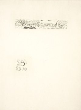 Untitled, working proof of pg. 81 (proof 2 of 3), in the book Dingo by Octave Mirbeau (Paris: Ambroise Vollard, 1924)