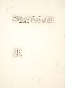 Untitled, working proof of pg. 81 (proof 3 of 3), in the book Dingo by Octave Mirbeau (Paris: Ambroise Vollard, 1924)