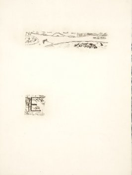 Untitled, working proof of pg. 101 (proof 2 of 4), in the book Dingo by Octave Mirbeau (Paris: Ambroise Vollard, 1924)