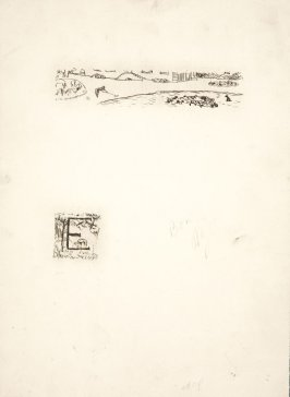 Untitled, working proof of pg. 101 (proof 4 of 4), in the book Dingo by Octave Mirbeau (Paris: Ambroise Vollard, 1924)