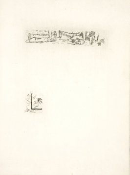 Untitled, working proof of pg. 137 (proof 1 of 4), in the book Dingo by Octave Mirbeau (Paris: Ambroise Vollard, 1924)