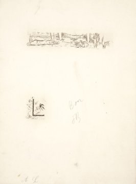 Untitled, working proof of pg. 137 (proof 4 of 4), in the book Dingo by Octave Mirbeau (Paris: Ambroise Vollard, 1924)