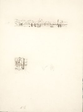 Untitled, working proof of pg. 159 (proof 2 of 3), in the book Dingo by Octave Mirbeau (Paris: Ambroise Vollard, 1924)