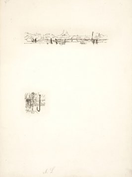Untitled, working proof of pg. 159 (proof 3 of 3), in the book Dingo by Octave Mirbeau (Paris: Ambroise Vollard, 1924)