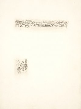 Untitled, working proof of pg. 175 (proof 2 of 2), in the book Dingo by Octave Mirbeau (Paris: Ambroise Vollard, 1924)