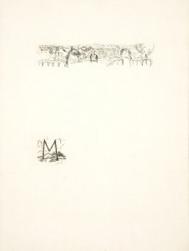 Untitled, working proof of pg. 189 (proof 1 of 4), in the book Dingo by Octave Mirbeau (Paris: Ambroise Vollard, 1924)