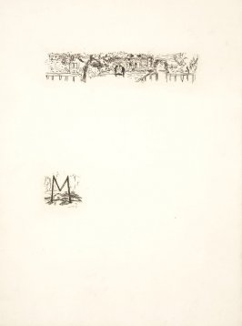 Untitled, working proof of pg. 189 (proof 3 of 4), in the book Dingo by Octave Mirbeau (Paris: Ambroise Vollard, 1924)