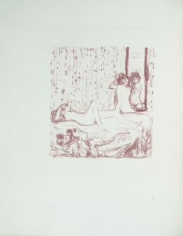 Untitled, frontispiece, in the book Parallèlement by Paul Verlaine (Paris: Ambroise Vollard, 1900).