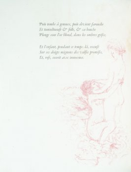 Untitled, pg. 12 , in the book Parallèlement by Paul Verlaine (Paris: Ambroise Vollard, 1900).