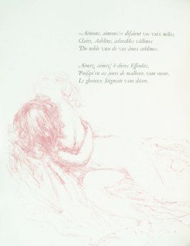 Untitled, pg. 14 , in the book Parallèlement by Paul Verlaine (Paris: Ambroise Vollard, 1900).