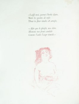 Untitled, pg. 16 , in the book Parallèlement by Paul Verlaine (Paris: Ambroise Vollard, 1900).