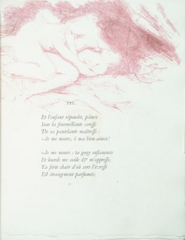 """Été"", pg. 17 , in the book Parallèlement by Paul Verlaine (Paris: Ambroise Vollard, 1900)."