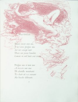 """Seguidille"", pg. 27 , in the book Parallèlement by Paul Verlaine (Paris: Ambroise Vollard, 1900)."