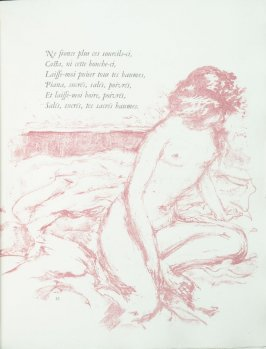 Untitled, pg. 33 , in the book Parallèlement by Paul Verlaine (Paris: Ambroise Vollard, 1900).