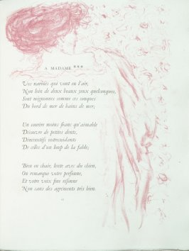 """A madame"", pg. 43 , in the book Parallèlement by Paul Verlaine (Paris: Ambroise Vollard, 1900)."