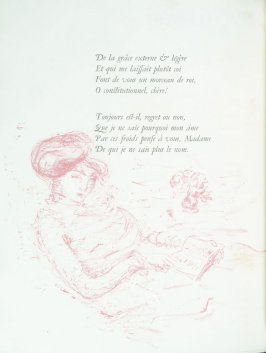 Untitled, pg. 44 , in the book Parallèlement by Paul Verlaine (Paris: Ambroise Vollard, 1900).