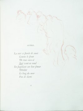 """Autre"", pg. 53 , in the book Parallèlement by Paul Verlaine (Paris: Ambroise Vollard, 1900)."