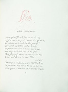 """Autre explication"", pg. 73 , in the book Parallèlement by Paul Verlaine (Paris: Ambroise Vollard, 1900)."
