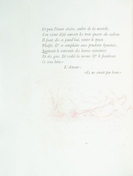 Untitled, pg. 74 , in the book Parallèlement by Paul Verlaine (Paris: Ambroise Vollard, 1900).
