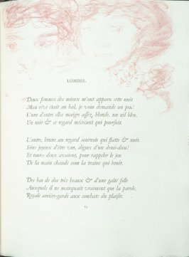 """Lombes"", pg. 79 , in the book Parallèlement by Paul Verlaine (Paris: Ambroise Vollard, 1900)."