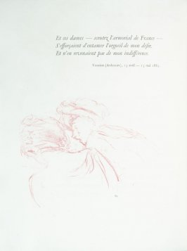 Untitled, pg. 80 , in the book Parallèlement by Paul Verlaine (Paris: Ambroise Vollard, 1900).