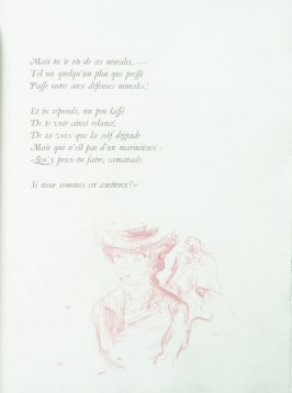 Untitled, pg. 91 , in the book Parallèlement by Paul Verlaine (Paris: Ambroise Vollard, 1900).