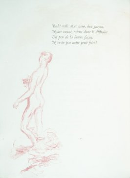 Untitled, pg. 94 , in the book Parallèlement by Paul Verlaine (Paris: Ambroise Vollard, 1900).