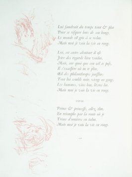Untitled, pg. 106 , in the book Parallèlement by Paul Verlaine (Paris: Ambroise Vollard, 1900).