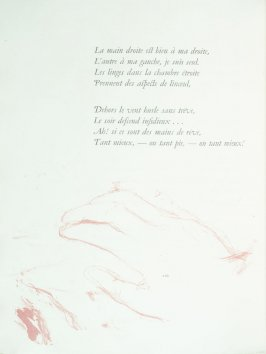 Untitled, pg. 110 , in the book Parallèlement by Paul Verlaine (Paris: Ambroise Vollard, 1900).