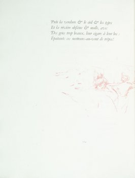 Untitled, pg. 114 , in the book Parallèlement by Paul Verlaine (Paris: Ambroise Vollard, 1900).