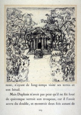 Daphnis and Chloe by Longus: ill. on page 223