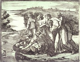 The Finding of Moses, after the frescoes by Raphael for the Vatican Loggia