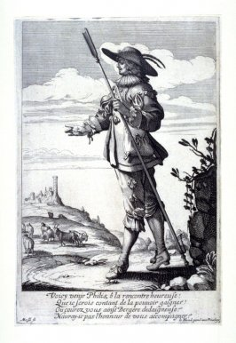 The Shepherd, from Sheperds and Shepherdesses (set of 4)