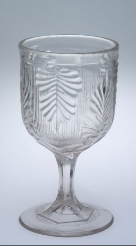 Goblet with Inverted Fern pattern