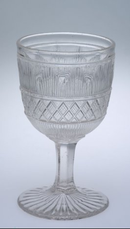 Goblet with Hamilton pattern