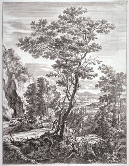 The Large Tree; From : The set of the Upright Italian landscapes