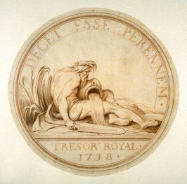 Design for a Medal of the Royal Treasury