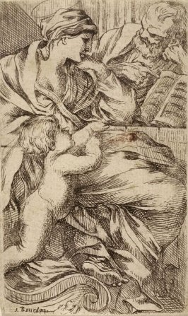 The Holy Family with the Book
