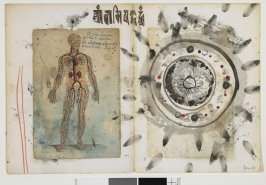 Nervous System, pages from the artist's diary