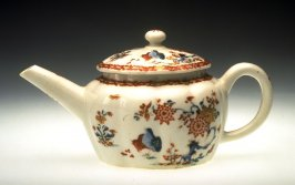 Teapot, Cover and Small Dish