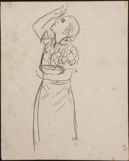 Untitled (Girl Holding Bowl)