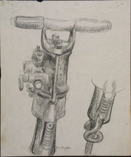 Untitled (Jackhammer Handle)