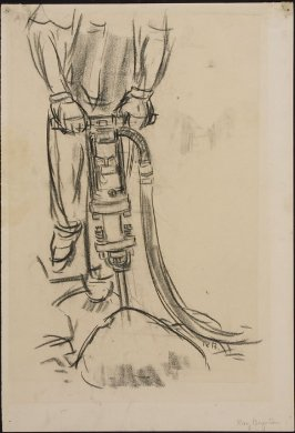 Untitled (Man Using Jackhammer)