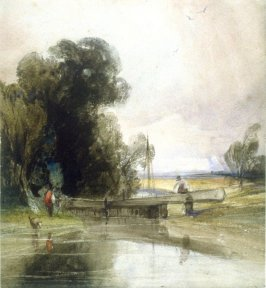 Landscape with a Lockgate