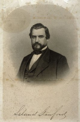 Portrait of Leland Stanford