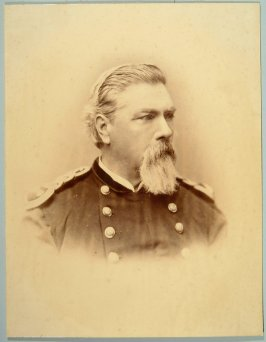 Maj. Gen. H.A. Cobb, Division Commander National Guard, CA and staff